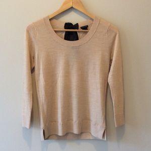 Blush 3/4 Sleeve Club Monaco Wool Sweater
