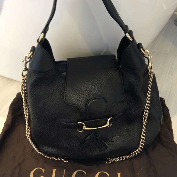 Gucci Handbags - Gucci Emily Hobo tote 25aaf54e4