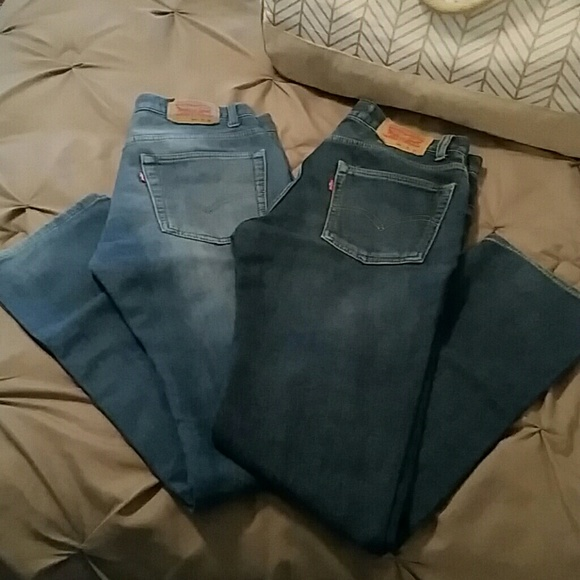 Levi's - Boys size 18 regular Levis 511 knit jeans. from Shuree's ...