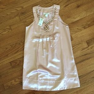 Pink rhinestone dress M
