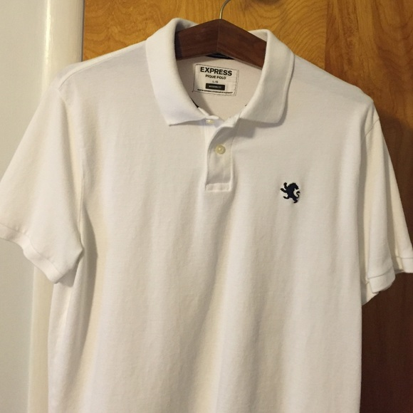 Express Shirts Mens Modern Fit Small Lion Pique Polo Poshmark