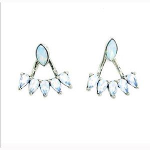 Sunahara Jewelry Jewelry - Sunahara RA opal convertible earrings-NWT!