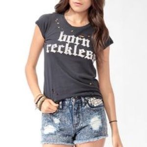 🌟💜 Born Reckless Forever 21 💜🌟