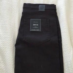 Zara Jeans Man Brown Skinny Pants Poshmark
