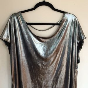 American Apparel Dresses - Metallic American Apparel Tunic Dress