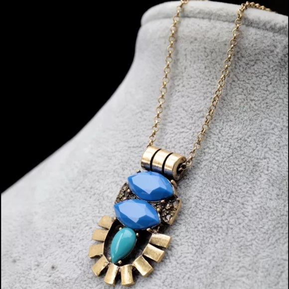 86 off boutique jewelry hp art deco modern vintage pendant necklace fr - Boutique deco vintage ...