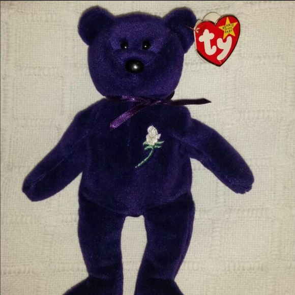 329180af87a First edition princess Diana beanie baby