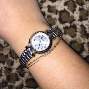 Timex Accessories - Two-toned Timex skinny watch!!