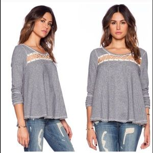 Free people Lacey love sweater