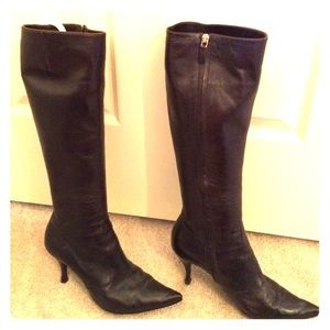 Sergio Rossi Shoes - PRICE DROP!! Sergio Rossi Chocolate Brown Boots