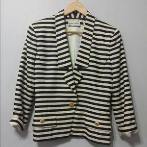 Albert Nippon vintage strip blazer