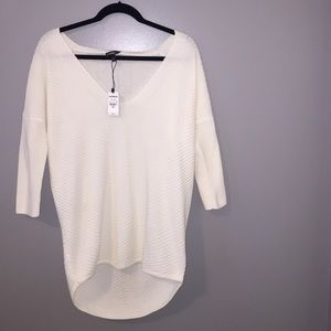 NWT Rib Express London Tunic Sweater