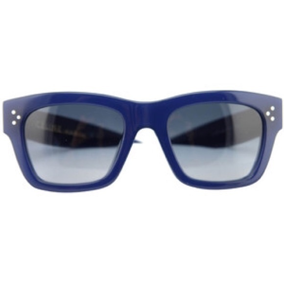 celine sunglasses blue lens