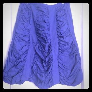 Vintage blue Marc Jacobs skirt. Amazing draping