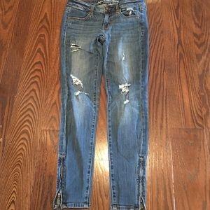 American Eagle Outfitters Denim - Stretch Ankle Jeans Zipper on Ankles