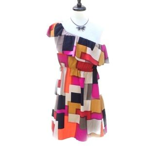 Color Me Red Dresses & Skirts - 🌹 HP Color Me Red Multicolor Dress or Tunic Small