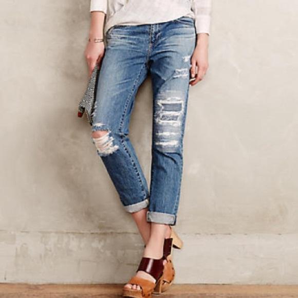 The Slouchy Ag Beau Skinny Jeans Nwt PkZiuOX