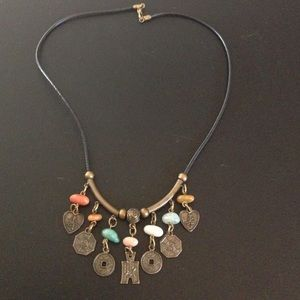 Jewelry - Asian style necklace with charms and stones