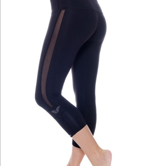 75% off Public Myth Pants - Black public myth leggings with mesh ...