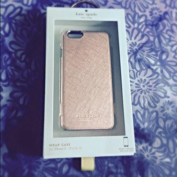info for fa28c 15029 Kate Spade NY phone case - Saffiano rose gold