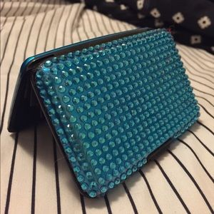 Handbags - Turquoise Gem Credit Card Case