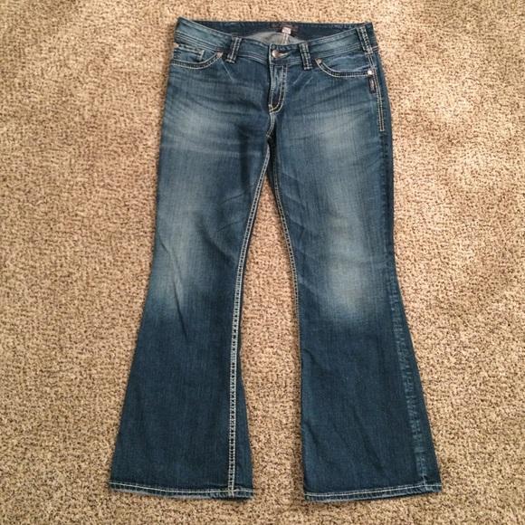 65% off Silver Jeans Denim - Silver Jeans &quotSuki Surplus&quot Size 34