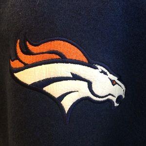 d5d15b95 Nike NFL Broncos Letterman Jacket medium - men's