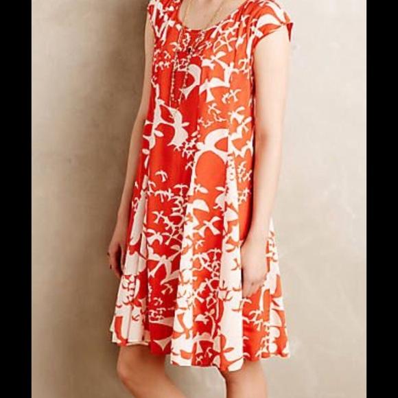 74db3fd95f1b Anthropologie Dresses & Skirts - Anthropologie Maeve Indiga Swing Dress