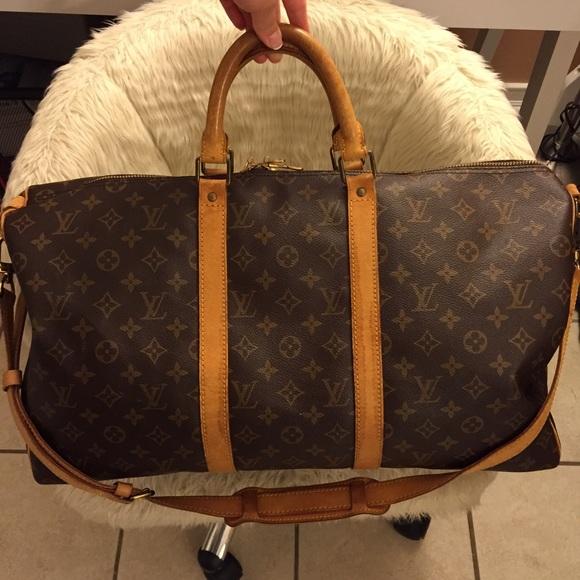 0d4ff305ee0e1 Louis Vuitton Handbags - Authentic Louis Vuitton Bandouliere Keepall 50