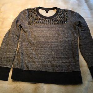 J. Crew embellished sweatshirt