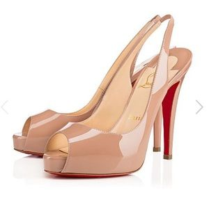Christian Louboutin Shoes - AUTHENTIC NPrive Christian Louboutin Slingbacks