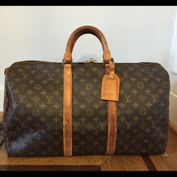 da59d4c8235c Louis Vuitton Handbags - Auth Louis Vuitton Keepall 50 Boston Travel Bag