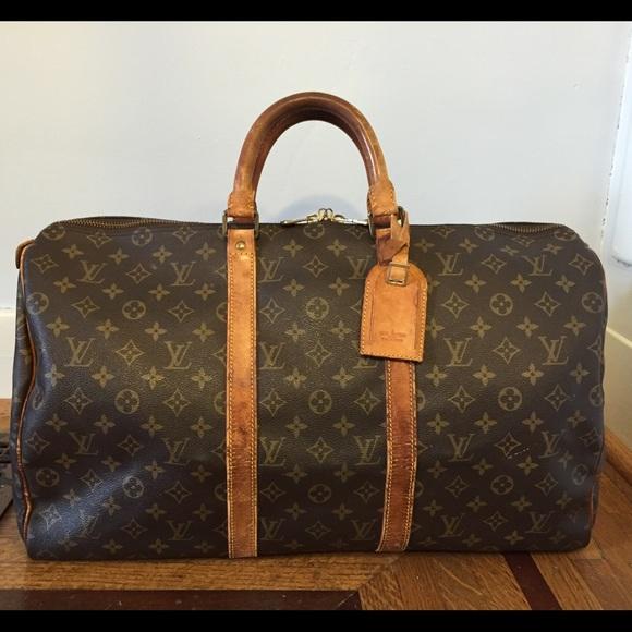 Louis Vuitton Handbags - Auth Louis Vuitton Keepall 50 Boston Travel Bag e9d8e90833223