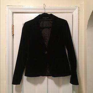 Black Velvet Theory Blazer