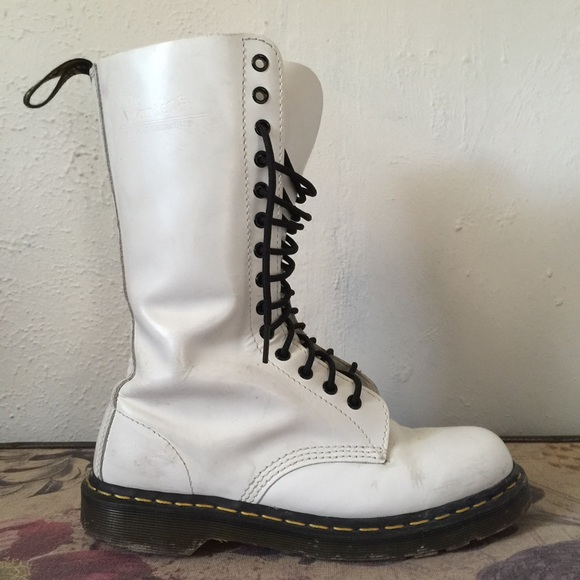 Dr. MartensLace-up boots - white KveD0w9xap