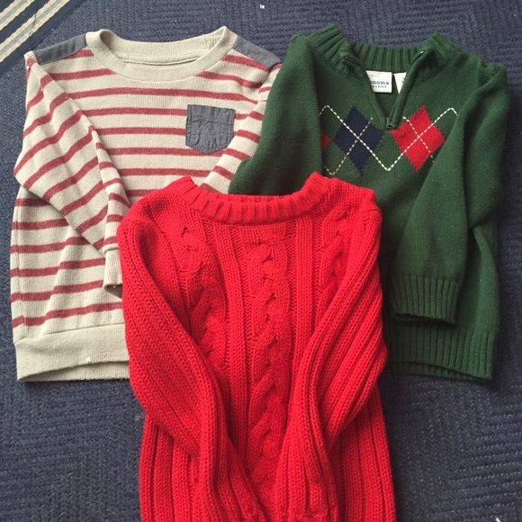 Old Navy Shirts Tops Toddler Boys Sweaters Poshmark