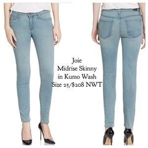 FINAL❗️JoieMidrise Skinny Jeans in Kumo Wash