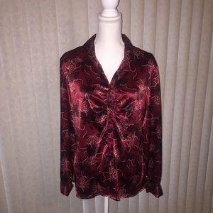 Apt  9 Long Sleeve blouse