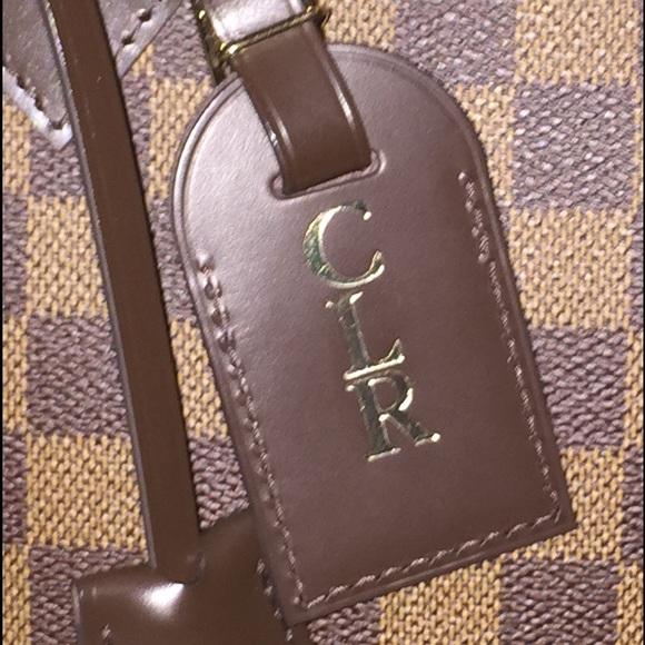 Louis Vuitton Accessories Luggage Tag Ebene Poshmark