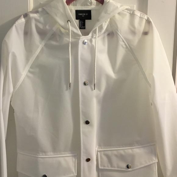 Forever 21 Jackets Coats Forever 2 Clear Raincoat Poshmark