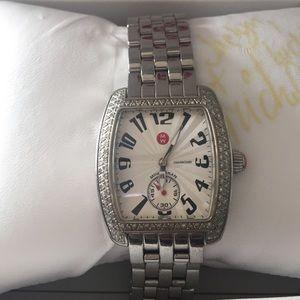 Michele Accessories - Michele diamond urban watch