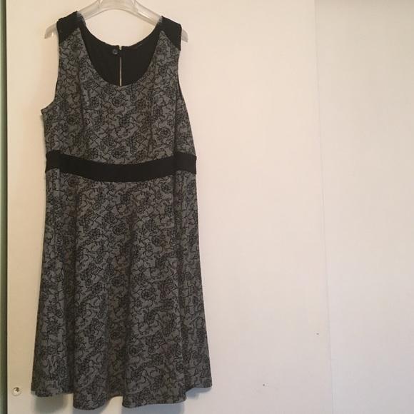 City Chic Dresses Hp 725 Black Lace Skater Dress Poshmark