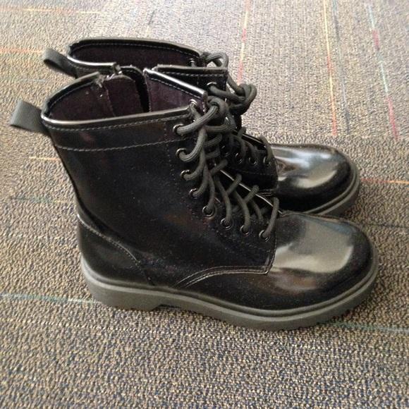 Dr. Martens Shoes - NWOT Black Patent Boots