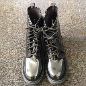 Dr. Martens Shoes - NWOT Black Patent Boots