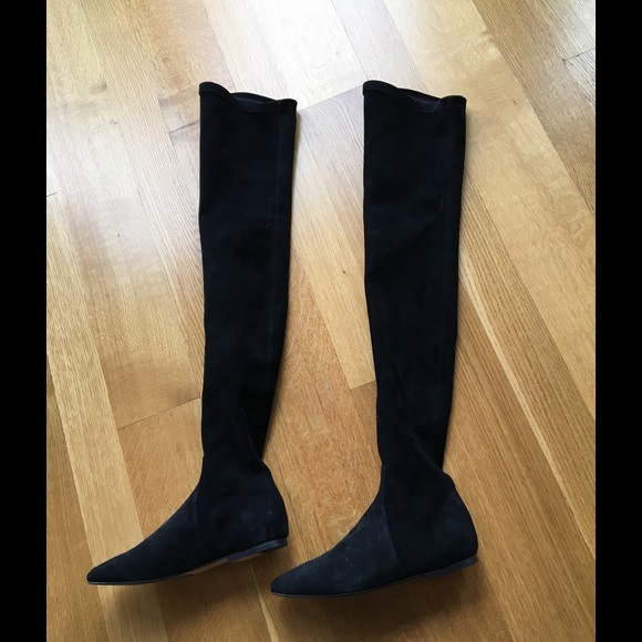 29f8d0e0eed Isabel Marant Shoes - Isabel Marant Brenna suede over-the-knee boots