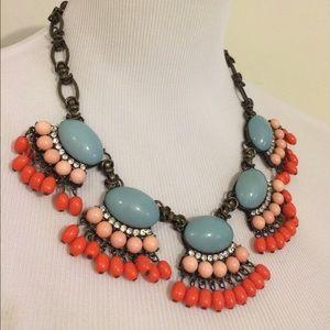 Jewelry - Crystal fan necklace