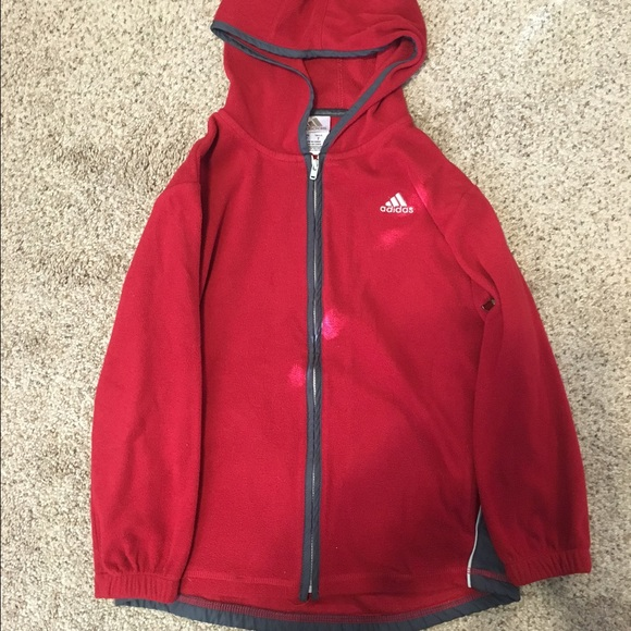 adidas hoodie size 7