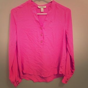 Forever 21 Tops - Forever 21 Long Sleeve Pink top
