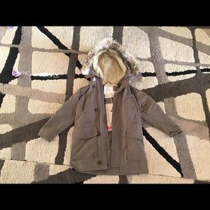 Authentic Boys Kids Burberry Fur Trench Coat 10