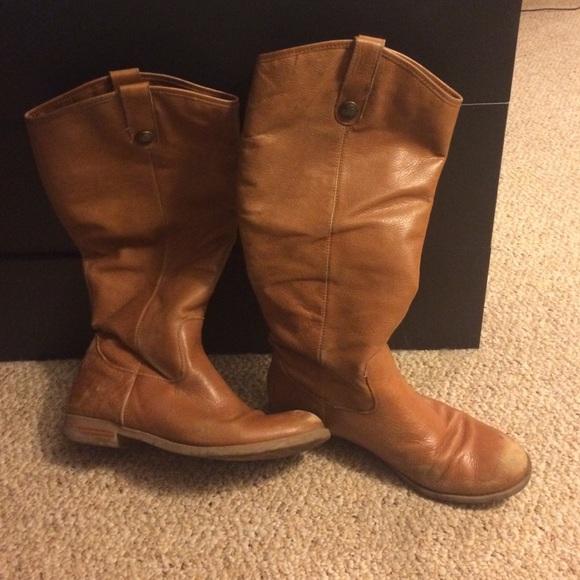 73% off Merona Shoes - Target Merona Kasia Leather Riding Boot ...